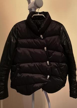 Тёплая демисезонная куртка philipp plein xs-s