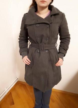 Пальто на зиму, дуже тепле пальто с капюшоном terranova s\m