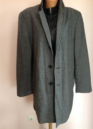 Мужское стильное пальто./54/ brend canda