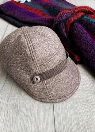 Жіноча кашемірова шапка, кепи brunello cucinelli з останніх колекцій