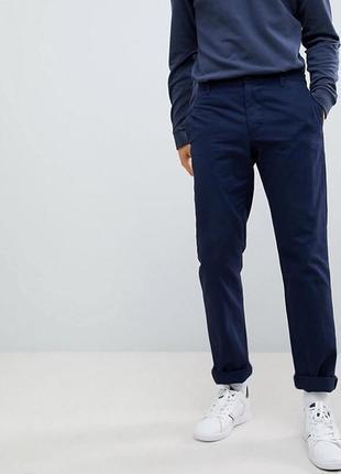Чиносы lacoste , мужские темно- синие брюки , штаны .