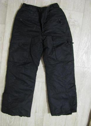Штаны лыжные 11-12-13 лет 152 см рост теплые детские chamonix