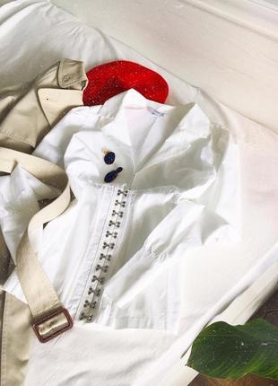 Актуальна блуза з корсетом від next