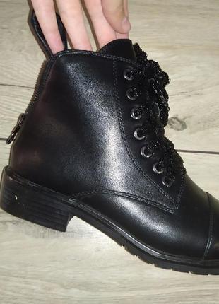 Женские  ботинки деми осень низкий ход жіночі полуботинки