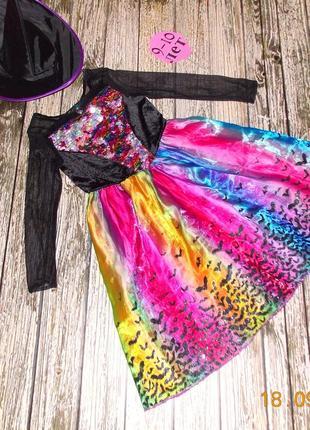 Новогоднее платье для девочки 9-10 лет. 134-140 см