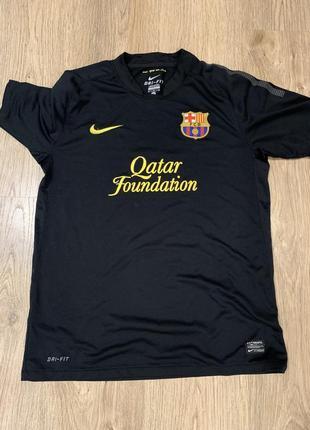 Nike футбольная футболка барселона