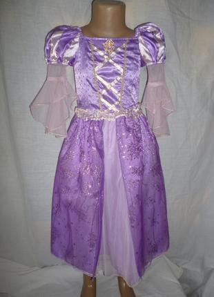 Платье рапунцель на 5-6 лет