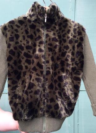 Свитер-куртка