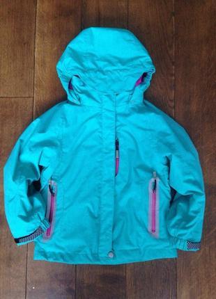 Детская лыжная куртка  с флисовой подстежкой (кофта) mckinley р. 6 лет