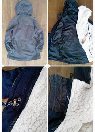 Женская куртка (парка) pull & bear  р. м