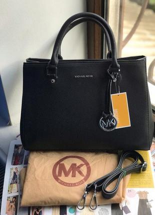 Женская сумка черная жіноча чорна