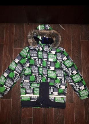 Зимняя куртка парка lenne 134см