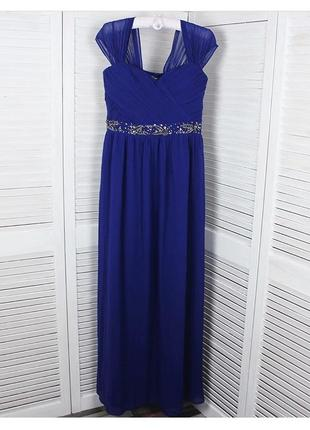 #розвантажуюсь синее платье макси в пол можно для выпускного для беременных для фотосессии