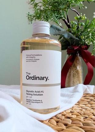 Тоник the ordinary glycolic acid 7% toning solution