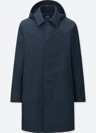 Uniqlo blocktech convertible collar coat плащ / парка