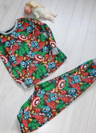 Пижама микрофлис на 6 лет rebel