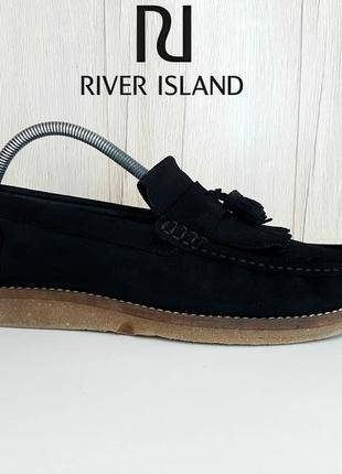 Лоферы мокасины туфли river island