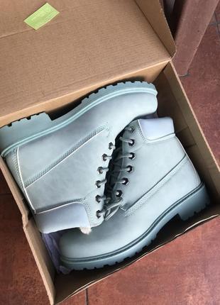 Ботинки мята