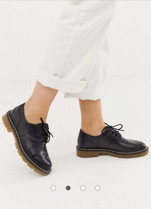 Туфли броги pull&bear
