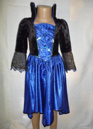 Платье феи ,колдуньи на 5-6 лет