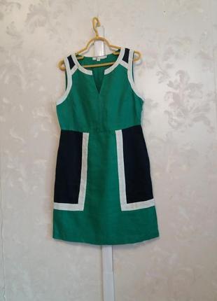 Льняное платье boden