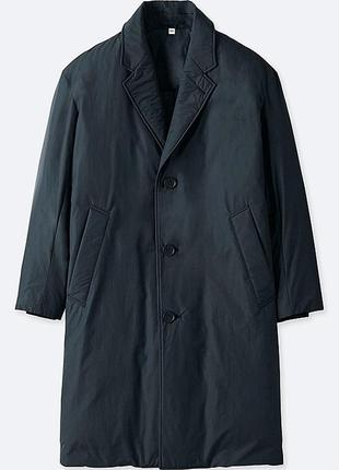 Легкое теплое пальто uniqlo × lemaire лимитированная коллекция