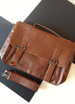 Мужской кожаный портфель zebella сша