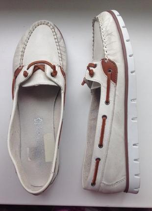 Marco tozzi жіночі шкіряні мокасини, туфли/ женские кожа мокасины, лоферы