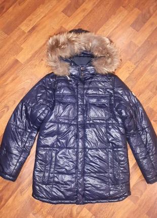 Зимняя куртка парка borelli 12