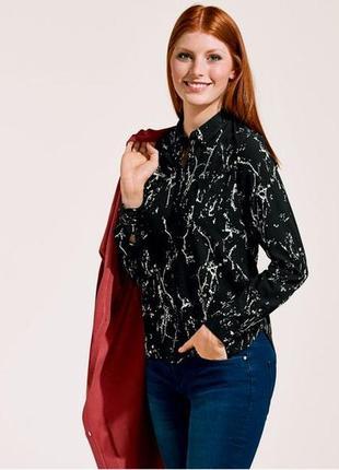 Женская блуза рубашка от esmara германия р. 50 евро