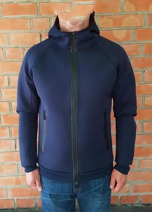 Hugo boss куртка неопрен худи оригинал (l)