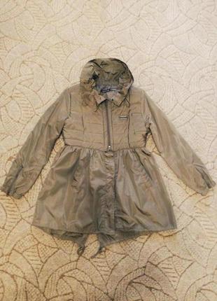 Модный плащ roberto cavalli осень-весна 42 размер