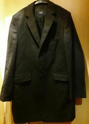 Новое пальто шерсть кашемир дорого бренда