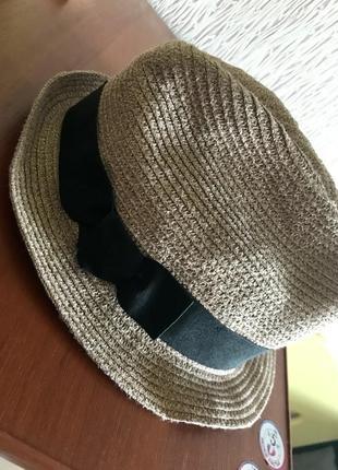 💽нарядная шляпка с люрексом