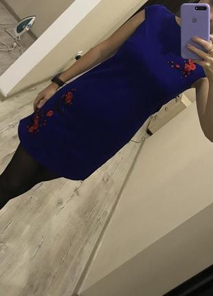 Нове плаття з вишивкою