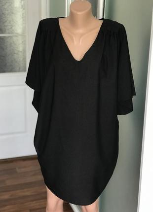 Платье стильное чёрное