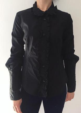 Рубашка чорна жіноча.