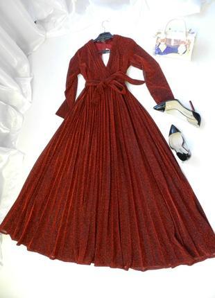 ✅ 📹 красивенное платье с люрексом