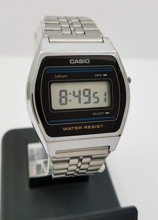 Винтажные casio b612 w, на ходу, время, календарь. корея.