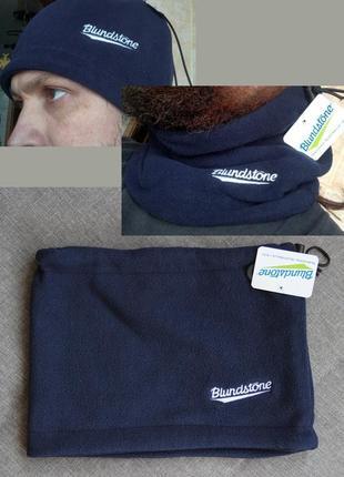 Баф флисовый шарф шапка новый blundstone