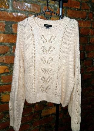 Свитер пуловер джемпер с узором new look