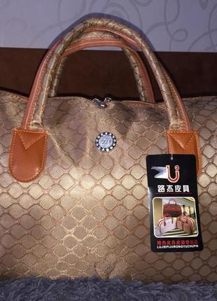 Стильная/модная/дорожная сумка/тканевая