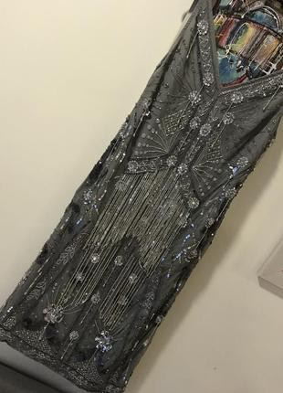 Платье стразы блёстки asos 34 размер