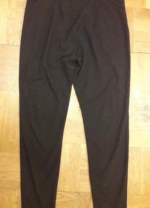 Черные брюки с заниженным шагом