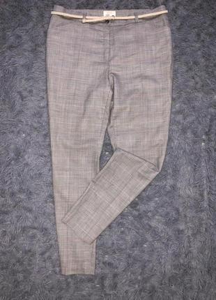 Супер модные трендовые классические брюки клетка/утиные лапки бренд brax feel good