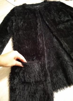 Отличный стильный брэндовый кардиган кофта жакет черный