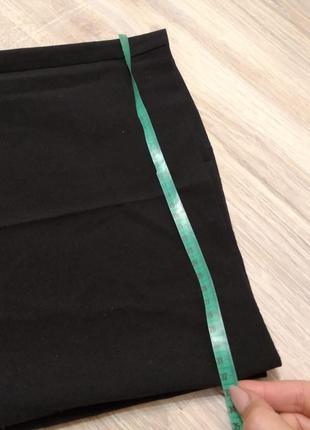 Отличные стильные классические черные брюки штаны прямые большого размера8 фото