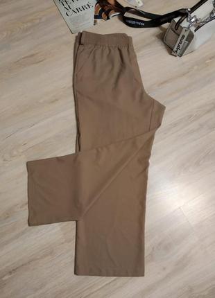 Отличные брэндовые стильные классические брюки штаны прямые большого размера3 фото