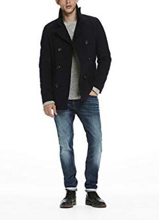 Пальто, куртка, пиджак, шерсть, jack & jones, р.l