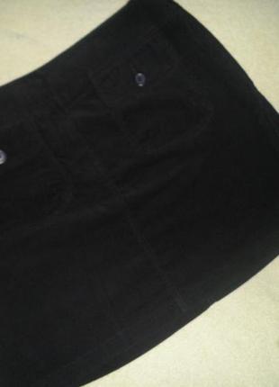 Вельветовая  юбка  marks&spenser